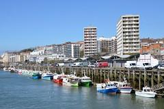Boulogne-sur-Mer (Pas-de-Calais) - Le port