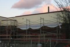 Suspension Bridge (Blinking Charlie) Tags: ttminorelementary scaffolding centraldistrict centralarea seattle washingtonstate usa canonpowershots110 blinkingcharlie 2016