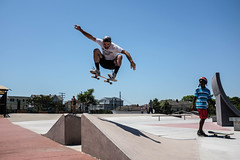 Amir Ollie (reidcashower) Tags: skateboarding long branch skate park new jersey