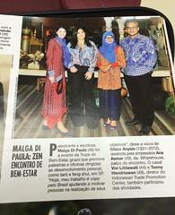(itpcsãopaulo) Tags: tradewithremarkableindonesia indonésia batik estampado craquelê