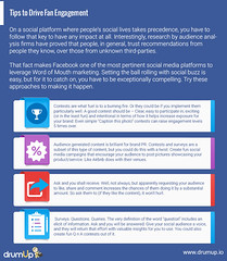 Facebook fan engagement (Social Media & Content Curation Platform) Tags: marketing media internet content social monitor guide employee facebook analytics advocacy infograph drumup employeeadvocacy