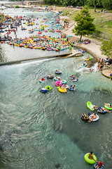 Tubing in New Braunfels (ralphnordenhold) Tags: tubing wate