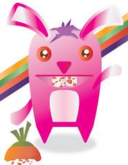 MR. BUNNY (LSAMM ) Tags: bunny pop illustrator coelho