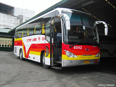 Victory Liner 8042 (Next Base II ) Tags: bus model long king shot suspension air united location victory 45 passengers number xiamen chassis seating inc configuration liner manufacturer capacity 8042 2x2 kinglong xmq 6119t la6rifs