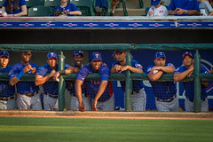 The Dugout (J.R.Photography) Tags: canon texas baseball rangers roundrock 100400mm bullpen roundrockexpress