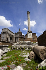 """Roman Forum - Column of Phocas • <a style=""""font-size:0.8em;"""" href=""""http://www.flickr.com/photos/89679026@N00/6970747244/"""" target=""""_blank"""">View on Flickr</a>"""