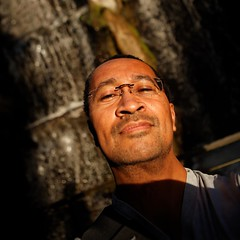 2752 | It's hip to be square | Artis(tic) Waterfall (Stewart Leiwakabessy) Tags: portrait selfportrait me netherlands amsterdam animal self project myself square zoo border nederland thenetherlands stewart squareformat weeks weekly artis 52 2011 leiwakabessy stewartleiwakabessy i
