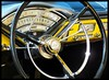 1956 Montclair Dash (Dusty_73) Tags: auto black classic ford car wheel yellow vintage pull fifties steering mercury interior style ring chrome dash american 1956 horn montclair 56