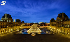 Louvre (A.G. Photographe) Tags: sunset paris france french nikon raw louvre eiffeltower eiffel toureiffel champdemars ag napoleon nikkor fx pyramide hdr parisian anto couchdesoleil louisxiv parisienne xiii parisien gustaveeiffel 2470 hdr1raw d700 antoxiii photoengine oloneo agphotographe hdrengine