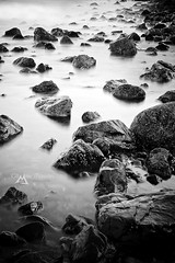 Another dimension (Olivier Maurin | CoolGraph) Tags: sea blackandwhite mer seascape eau noiretblanc another dimension rochers ocan rocs poselongue longueexposure nikond700 nikkor2470f28 oliviermaurin
