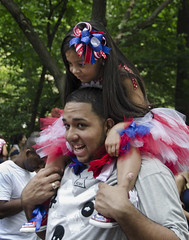 D7K 0854 ep (Eric.Parker) Tags: street city nyc ny newyork girl child piggyback 2012 shoulderride puertoricoparade