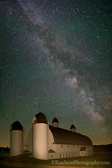 Milky Way ... over the DH Day Barn II (Ken Scott) Tags: longexposure summer usa june barn michigan 2012 voted milkyway leelanau lightpainted sigma20mm18 dhdaybarn airglow sbdnl sleepingbeardunenationallakeshore mostbeautifulplaceinamerica uppanorama