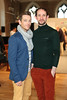 Alan Sherlock & Kieran Grimes pictured at the ebay.ie fashion show at Smock Alley Theatre, part of the ebay.ie online fashion week. Photo: Anthony Woods.