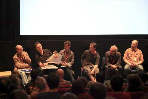Attendees at Animation Panel: Running Out of FIlm