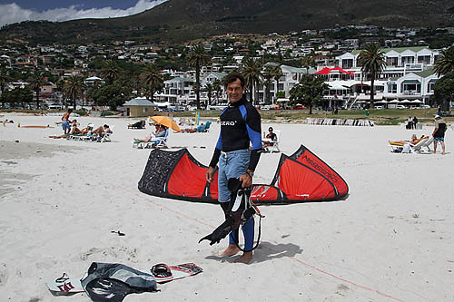 Camps Bay-4-Kite-Surfer