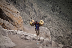Sulphur miner. Kawah Ijen, Java. (Matt Paish 2013) Tags: man male horizontal indonesia asian volcano java intense movement workers asia basket outdoor plateau labor smoke documentary crater baskets chip strong sulphur worker block strength dust sulfur heavy crush powerful indonesi indonesien slab breaking intensity fumes  indonsie eastjava ijencrater ijen kawahijen indonezja midview ijenvolcano indoneesia  sulphuricfumes   sulphurminer sulfurminer ijencaldera indnesa  indonzija indonezio indoneziya indonisa  sufuricfumes sulfuricfumes workingijencrater craterofkawahijen ijenvolcaniccrater sulfurminersofijen sulfurminersofkawahijenijensulfurmining ijensulphurmining sulfurminingatijen sulphurminingatijen kawahijensulfurmining kawahijensulphurmining kawahijensulfur kawahijensulphur