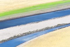 Equilibrio (serazua) Tags: blue color green nature yellow river relax nikon cceres equilibrio meandro riomalodeabajo serazua