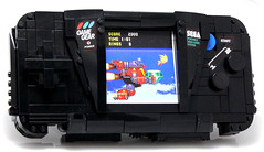 Game Gear (Baron Julius von Brunk) Tags: nyc lego sonic transformers legos sega hedgehog genesis knuckles moc gamegear brothersbrick baronvonbrunk juliusvonbrunk