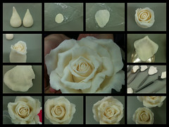 How I make my roses (Lisa Templeton) Tags: roses rose hand handmade ivory desserts made icing timaru denheath