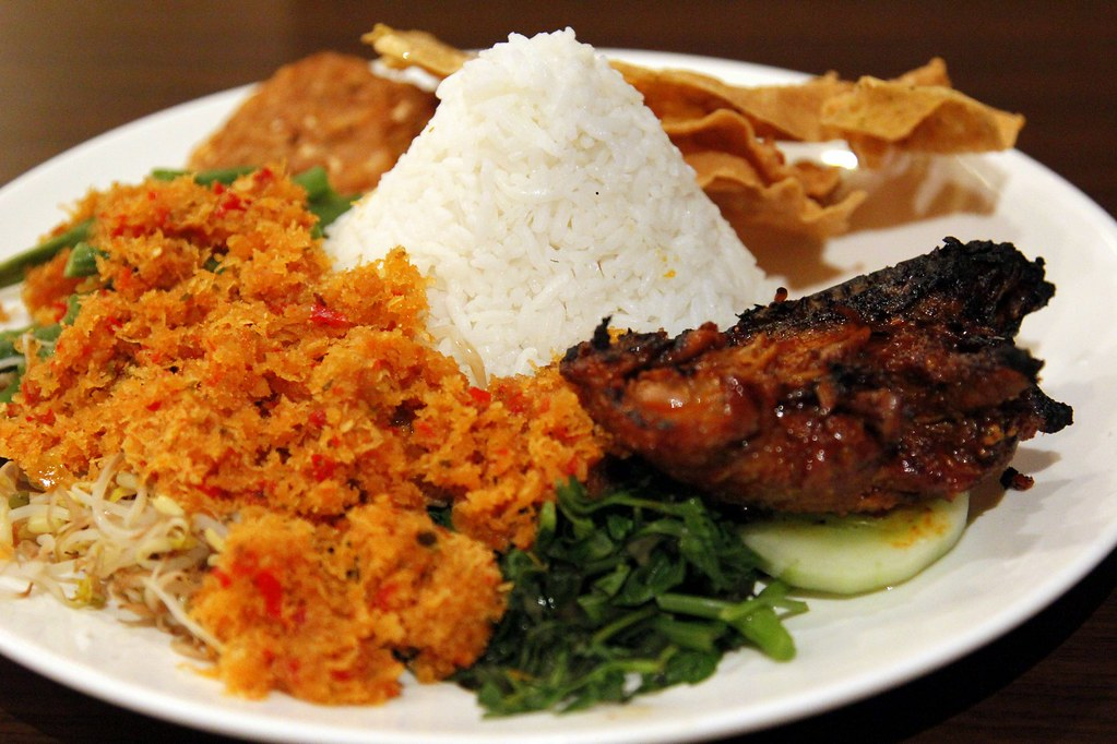 A light lunch in Surabaya, Indonesia