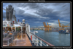 Barcelona Docks (Robert Warren) Tags: barcelona docks ship harbour grittiness nieuwamsterdam