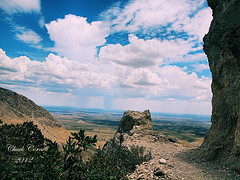 Cloudburst viewed from Guadalupe Peak Trail (chobuck cornell) Tags: guadalupe photocontesttnc09