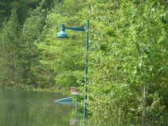 P1240685  Bridge (arrowlakelass) Tags: park canada bc flood millennium columbiariver walkway highwater castlegar twinriverspark