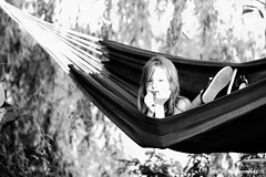 Summer (Thijs Tennekes) Tags: summer girl nice july lazy hammock easy polder chill 2012 thijs thys tennekes