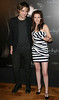 Robert Pattinson and Kristen Stewart Photocall of the French release of the film 'Twilight' at the Hotel Crillon. Paris, France