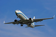 Xiamen Airlines Boeing 737-85C(WL) B-5528 (rickihuang) Tags: china plane airplane airport aircraft aviation capital beijing international civil xiamen mf  boeing  winglet airlines 800   airliner 737 cxa pek    zbaa        b5528 85cwl