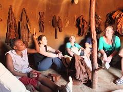 Inside the Himba Smokehouse (hobgadlng) Tags: namibia himba kamanjab natashag janetrice jennahessert erndindeman