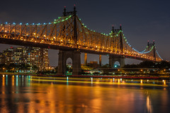 The 59th Street Bridge at Night (eligit) Tags: nyc newyorkcity 59thstreetbridge queensboroughbridge top20bridges