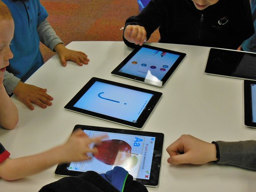 Learning with iPads by mikecogh, on Flickr