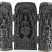 308. Asian Carved Folding Shrine