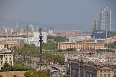 Barcelona skyline (Manuel.A.69) Tags: barcelona city urban skyline architecture landscape google spain europe flickr cityscape ciudad catalonia architektur catalunya espagne ville barcelone urbanscape citta urbain catalogne archittetura arcquitectura