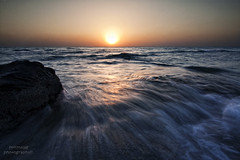 Fintas seaside (mynameismyk) Tags: seascape sunrise seaside waves kuwait fintas