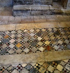 [patterns] (pienw) Tags: orvieto abbeysaintsseveroandmartirio middleages umbria benedictinemonastery cosmati pavement inlay geometry