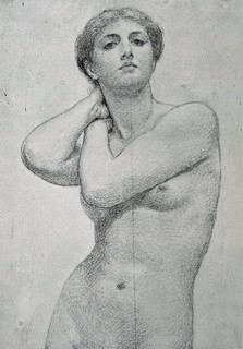 Bring Back an Oldie - 6 Aug 2012 - Study for a picture - Albert Moore