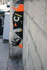 . (Philippe DERIK) Tags: streetart pasteup falafel derik bordeauxcollage