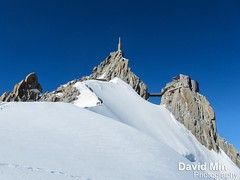 Chamonix, Mont-Blanc - The Ridge to The Aiguille du Midi (GlobeTrotter 20