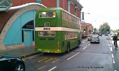 Lincolnshire RoadCar Bristol VR JVL619H (1904) on St Mark Street, Lincoln, 04/11/2012 (Scatmancraig1974) Tags: road street car st museum bristol mark transport lincolnshire marks lincoln council borough preserved milton keynes 1904 vr roadcar jvl ecw lincs playbus lrcc jvl619h flickrandroidapp:filter=none 619h scatmancraig