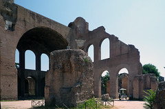 Basilica of Maxentius and Constantine, view to right