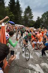 Le Tour France 2013_04 (PeterWdeK) Tags: france mountains cycling tour frankrijk bergen fietsen alpe dhuez belkin letour roadcycling 2013 dutchcorner