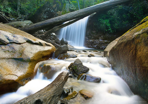 Smoko Falls, Tasmania