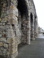 Old walls, Southampton Docks, England. (Annie.A.Ko) Tags: old uk trip vacation england docks walls southampton