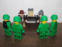 Indiana and Dr Jones Scavenger Hunt Briefing (Pest15) Tags: lego meeting briefing scavengerhunt indianajones minifigures legominifigures nationalscavengerhuntday