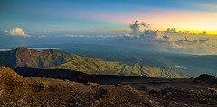 Rinjani Peak Pathway Sunrise (Abdul Azis (ais) - www.aisprophotography.com) Tags: travel sky mountain west sunrise indonesia asia hiking peak destination epic pathway nusa rinjani tenggara