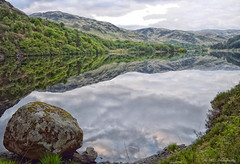 Wild Camping with a view (mikedenton19) Tags: park camping wild lake reflection water clouds forest landscape photography scotland nationalpark loch galloway glentrool wigtown trool