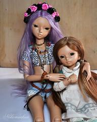 Sweet sisters^^ (nekomuchuu63) Tags: doll box 14 opening bjd 16 fairyland luka lishe minifee littlefee