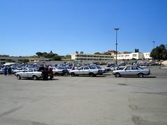 Old Mercedes taxis in Meknes (vaganto) Tags: car vintage mercedes morocco maroc meknes